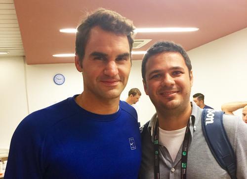 Federer e il Dr De Gasperis