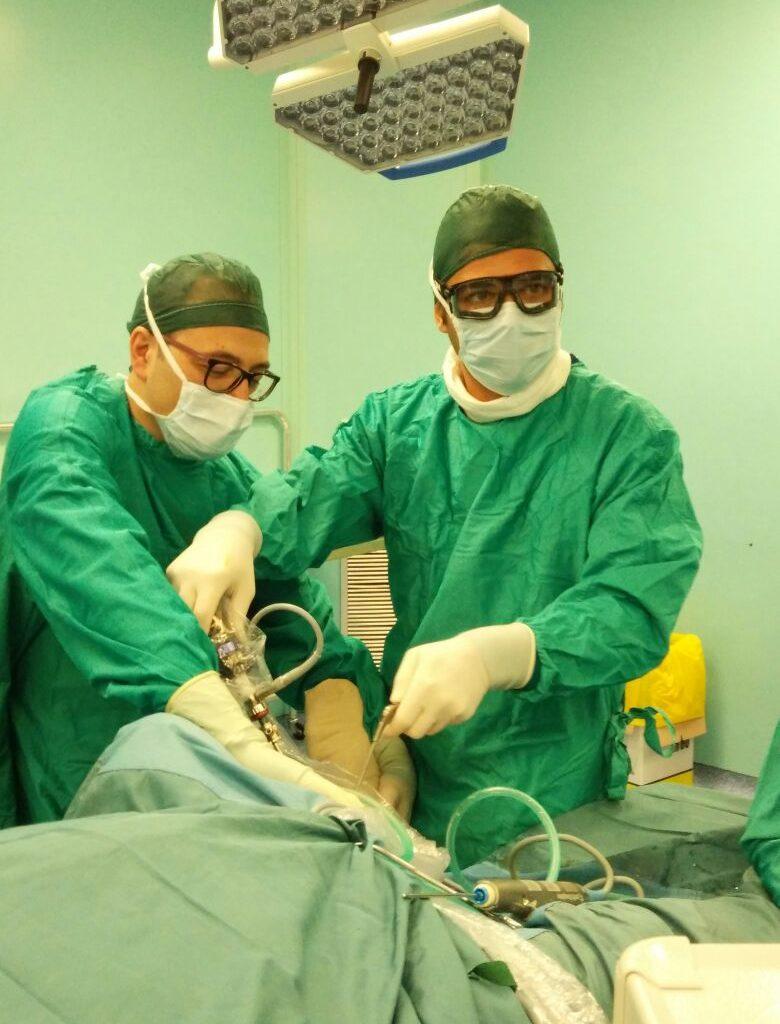 Dr. De Gasperis specialista in Ortopedia e Traumatologia - Foto intervento chirurgico