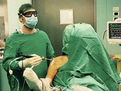 Foto intervento chirurgico Dr. De Gasperis