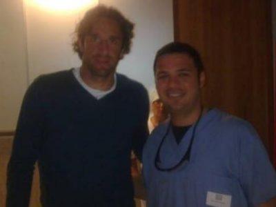 Toni e il Dr. Nicola De Gasperis